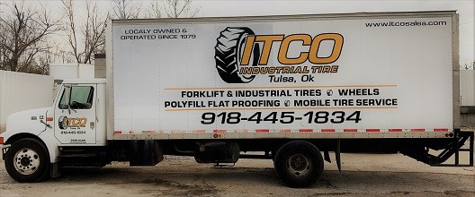 ITCO mobile industrial tire