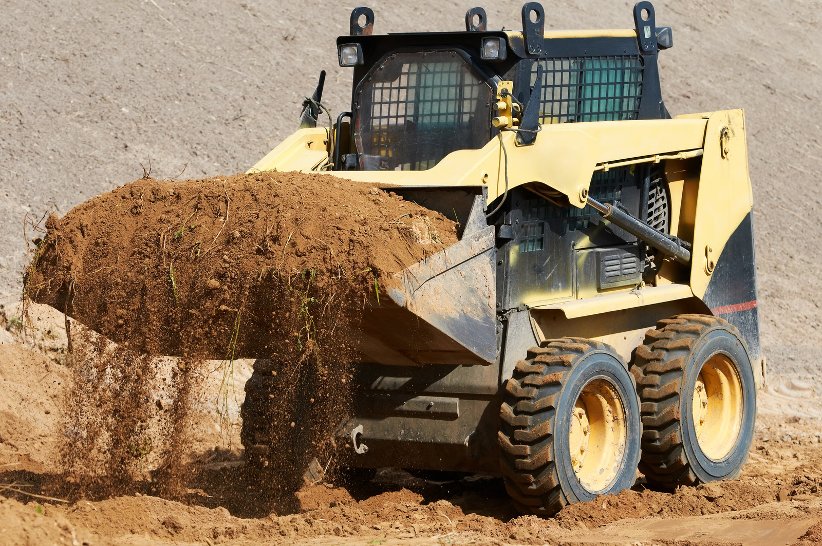 Skid Steer Tire Service
