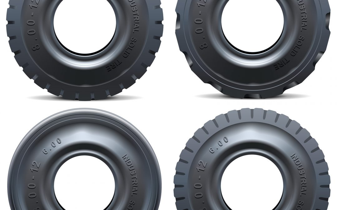 Industrial Forklift Tires – The Advantages of Solid Tires