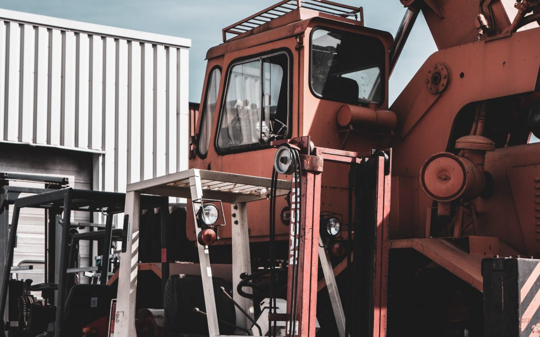 the right forklift tire