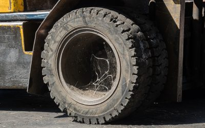 When To Replace Your Forklift Tires